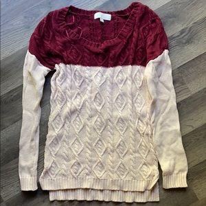 Women's Olive & Oak Sweater